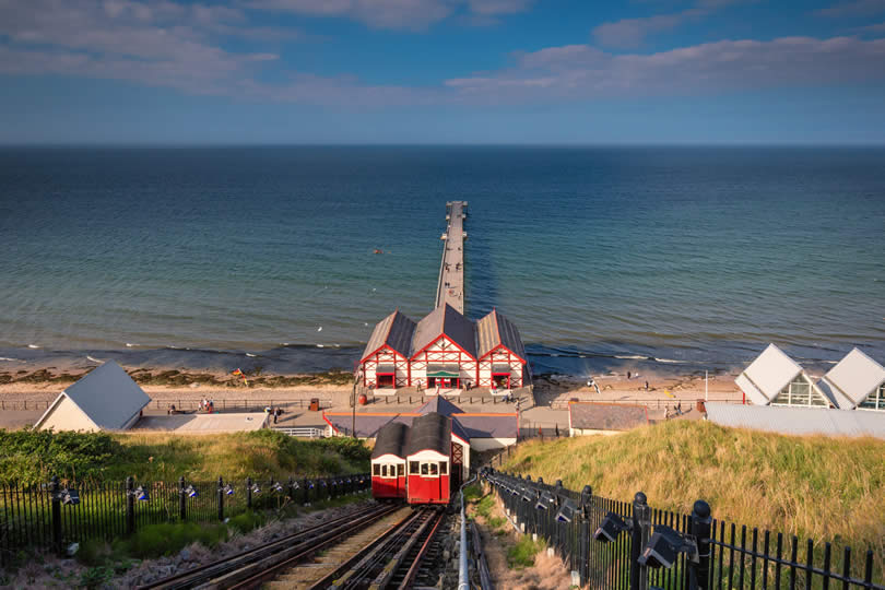 Saltburn Funicular and Pier